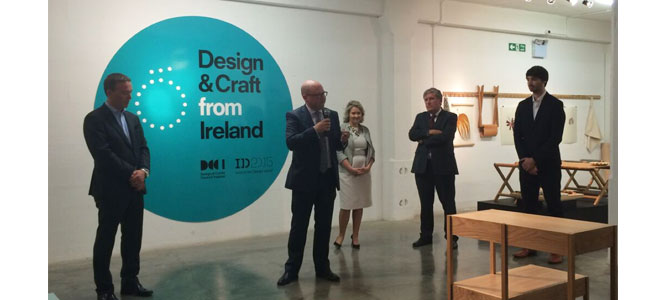 Minister Ged Nash London Design Festival Ó Exhibition of design and craft from & Minister Nash visits London Design Festival and officially ...